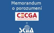 Memorandum o porozumení s CECGA